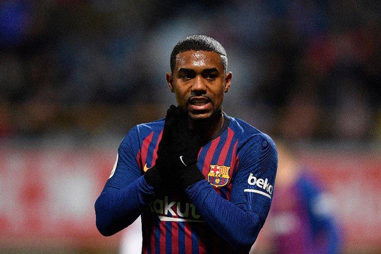 مالكوم يغيب عن برشلونة ضد رايو فاليكانو