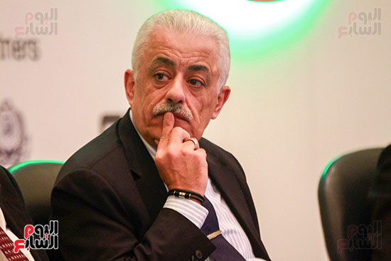 وزير التربية والتعليم بمؤتمر التنمية المستدامة (14)