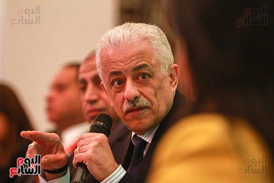 وزير التربية والتعليم بمؤتمر التنمية المستدامة (27)