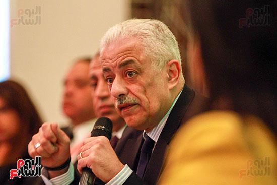 وزير التربية والتعليم بمؤتمر التنمية المستدامة (26)