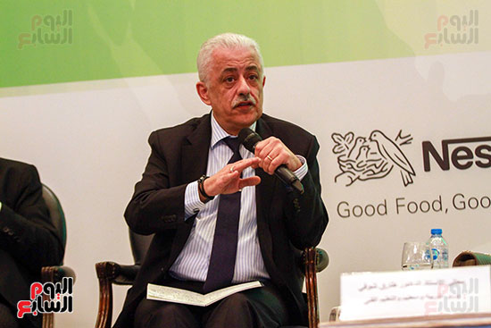 وزير التربية والتعليم بمؤتمر التنمية المستدامة (22)