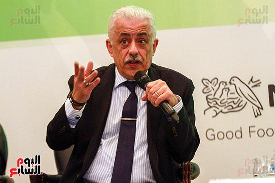 وزير التربية والتعليم بمؤتمر التنمية المستدامة (23)