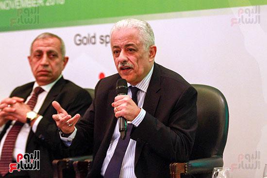وزير التربية والتعليم بمؤتمر التنمية المستدامة (21)