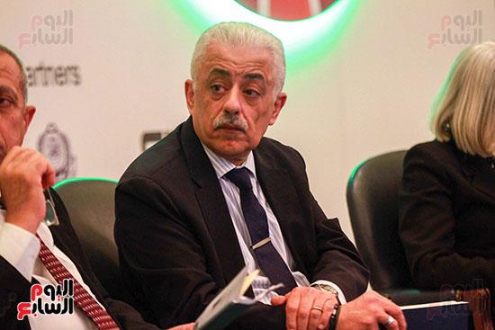 وزير التربية والتعليم بمؤتمر التنمية المستدامة (7)