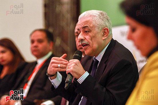 وزير التربية والتعليم بمؤتمر التنمية المستدامة (25)