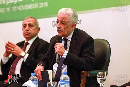 وزير التربية والتعليم بمؤتمر التنمية المستدامة (17)