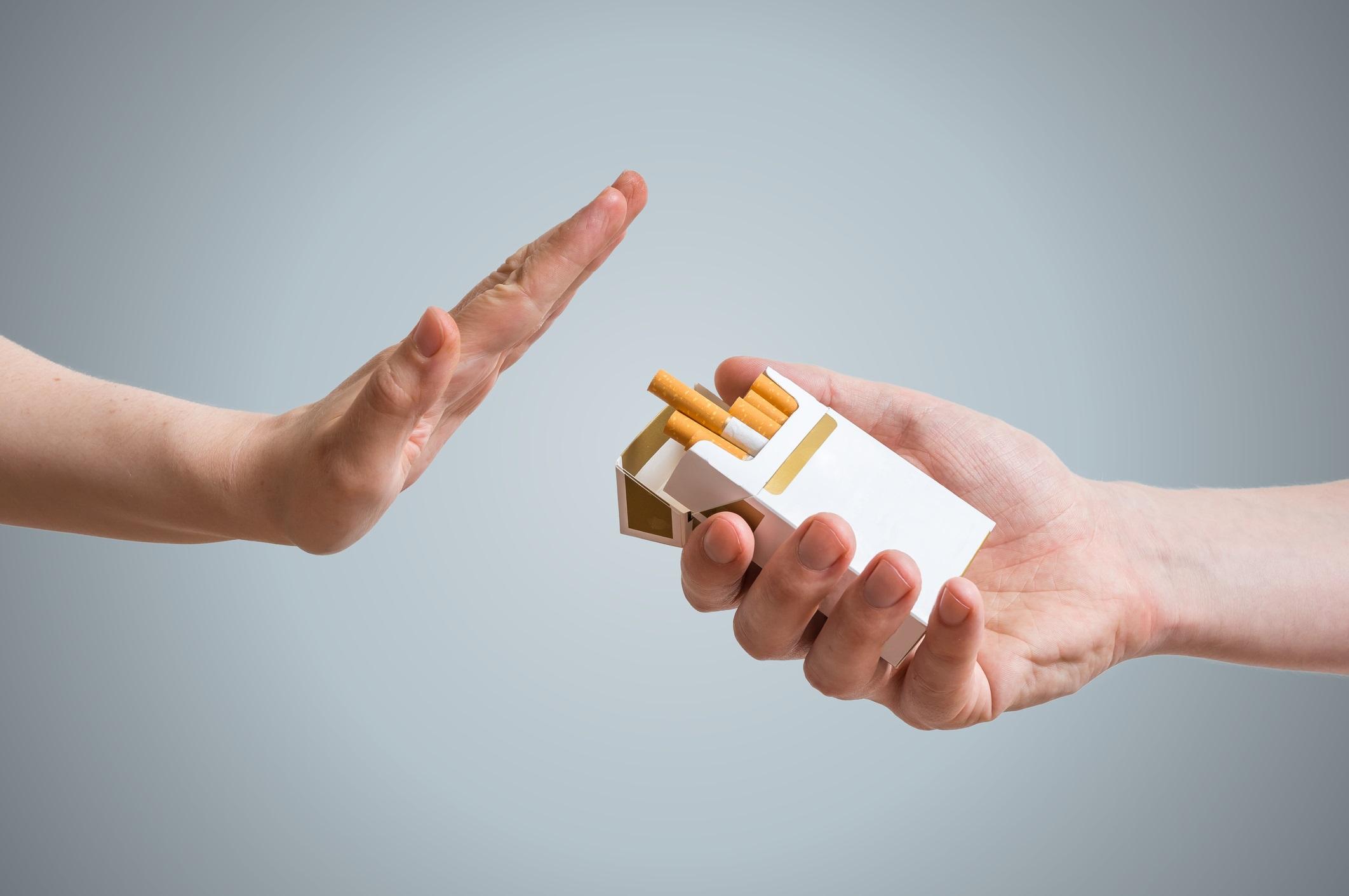 الاقلاع عن التدخين 1