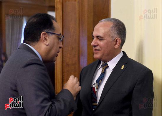 اجتماع مجلس الوزراء - مصطفى مدبولى (6)