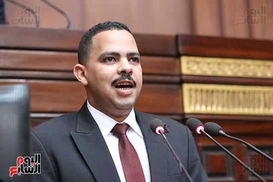 تكريم ابطال الالعاب الالومبيه بمجلس النواب (16)