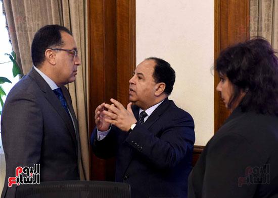 اجتماع مجلس الوزراء - مصطفى مدبولى (2)