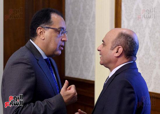 اجتماع مجلس الوزراء - مصطفى مدبولى (8)