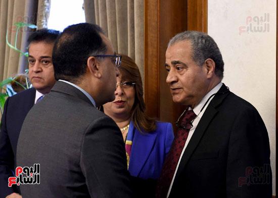 اجتماع مجلس الوزراء - مصطفى مدبولى (10)