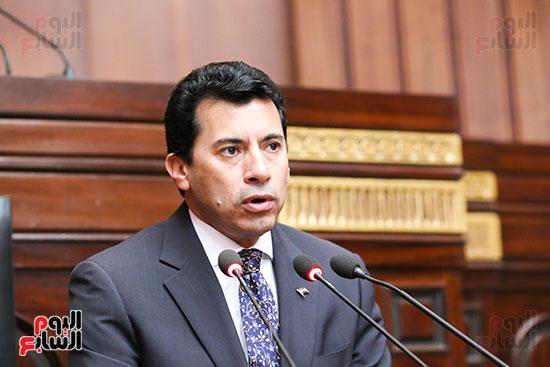 تكريم ابطال الالعاب الالومبيه بمجلس النواب (17)