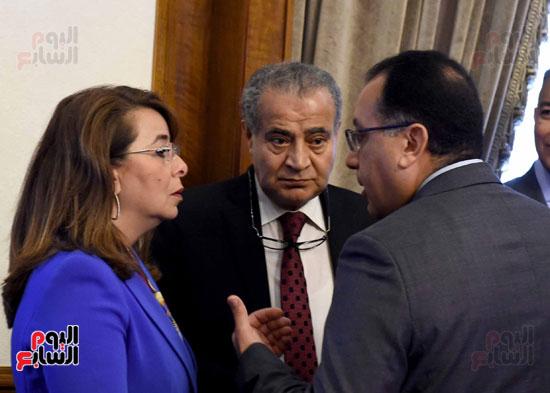 اجتماع مجلس الوزراء - مصطفى مدبولى (11)