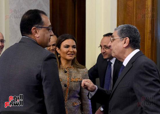 اجتماع مجلس الوزراء - مصطفى مدبولى (4)