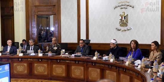 اجتماع مجلس الوزراء - مصطفى مدبولى (24)