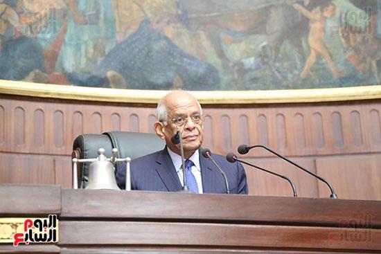 تكريم ابطال الالعاب الالومبيه بمجلس النواب (14)