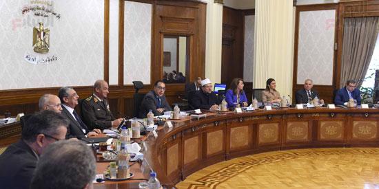 اجتماع مجلس الوزراء - مصطفى مدبولى (25)
