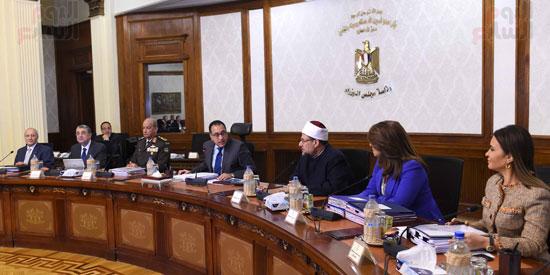 اجتماع مجلس الوزراء - مصطفى مدبولى (13)