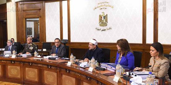 اجتماع مجلس الوزراء - مصطفى مدبولى (12)