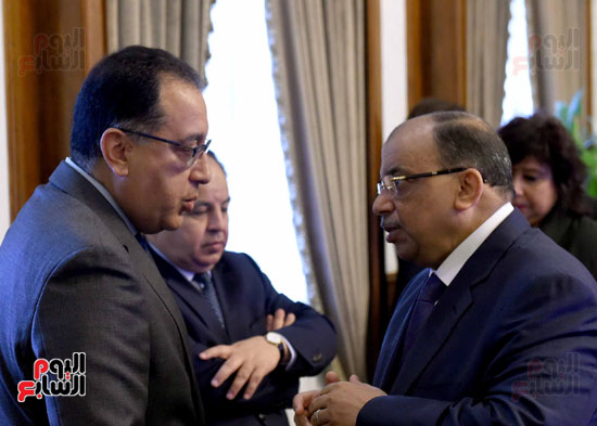 اجتماع مجلس الوزراء - مصطفى مدبولى (1)