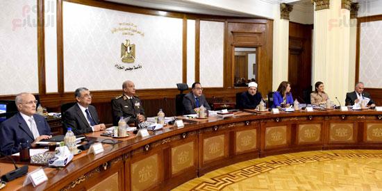 اجتماع مجلس الوزراء - مصطفى مدبولى (22)