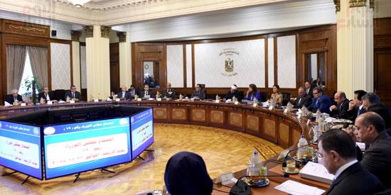 اجتماع مجلس الوزراء - مصطفى مدبولى (23)
