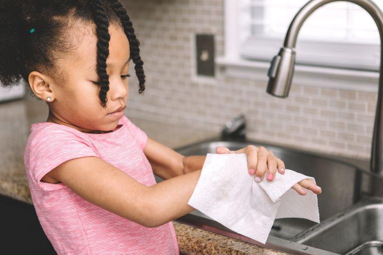 المناشف الورقية للوقاية من الانفلونزا