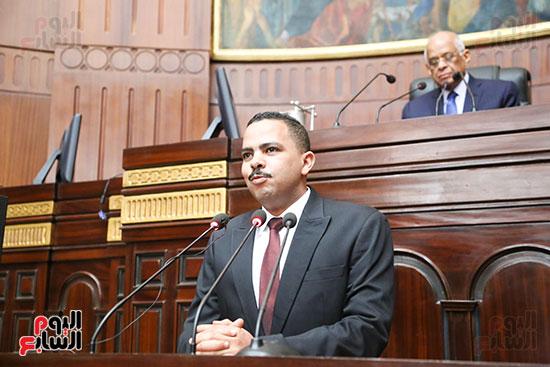 تكريم ابطال الالعاب الالومبيه بمجلس النواب (15)