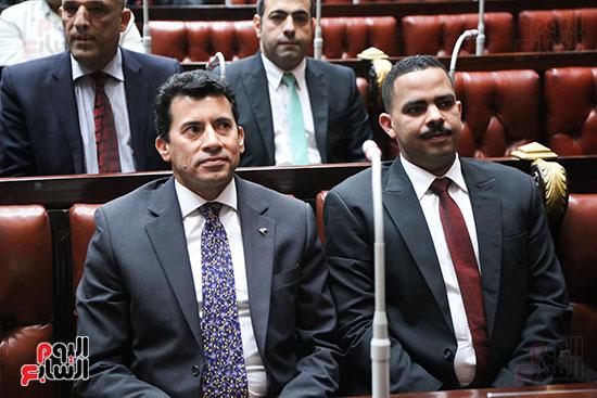 تكريم ابطال الالعاب الالومبيه بمجلس النواب (1)