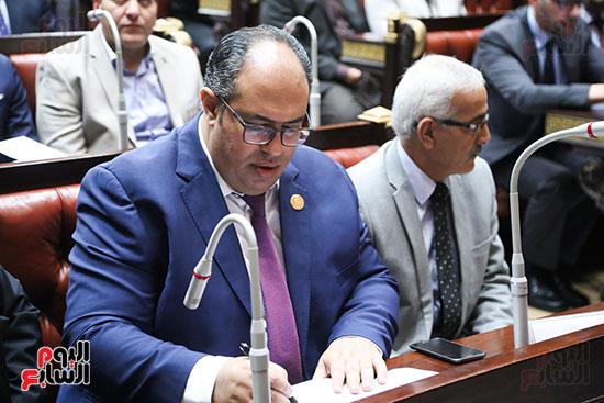 تكريم ابطال الالعاب الالومبيه بمجلس النواب (4)