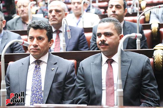 تكريم ابطال الالعاب الالومبيه بمجلس النواب (13)