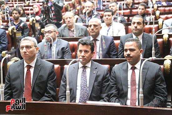تكريم ابطال الالعاب الالومبيه بمجلس النواب (12)