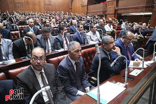 تكريم ابطال الالعاب الالومبيه بمجلس النواب (3)