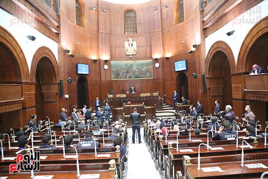 تكريم ابطال الالعاب الالومبيه بمجلس النواب (19)