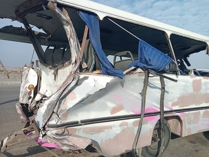 جانب من الحادث (2)