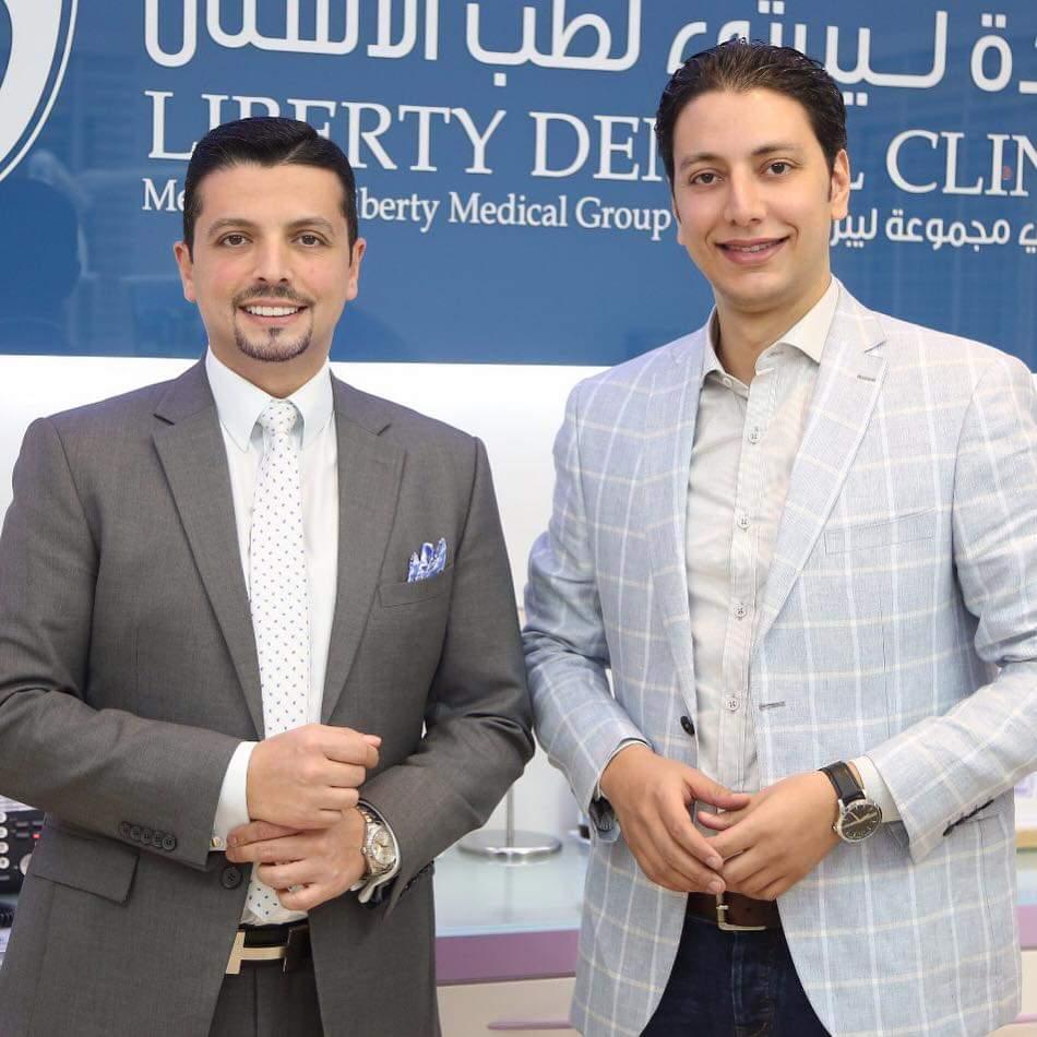 الدكتور أحمد القفاص مع الدكتور مجد ناجى