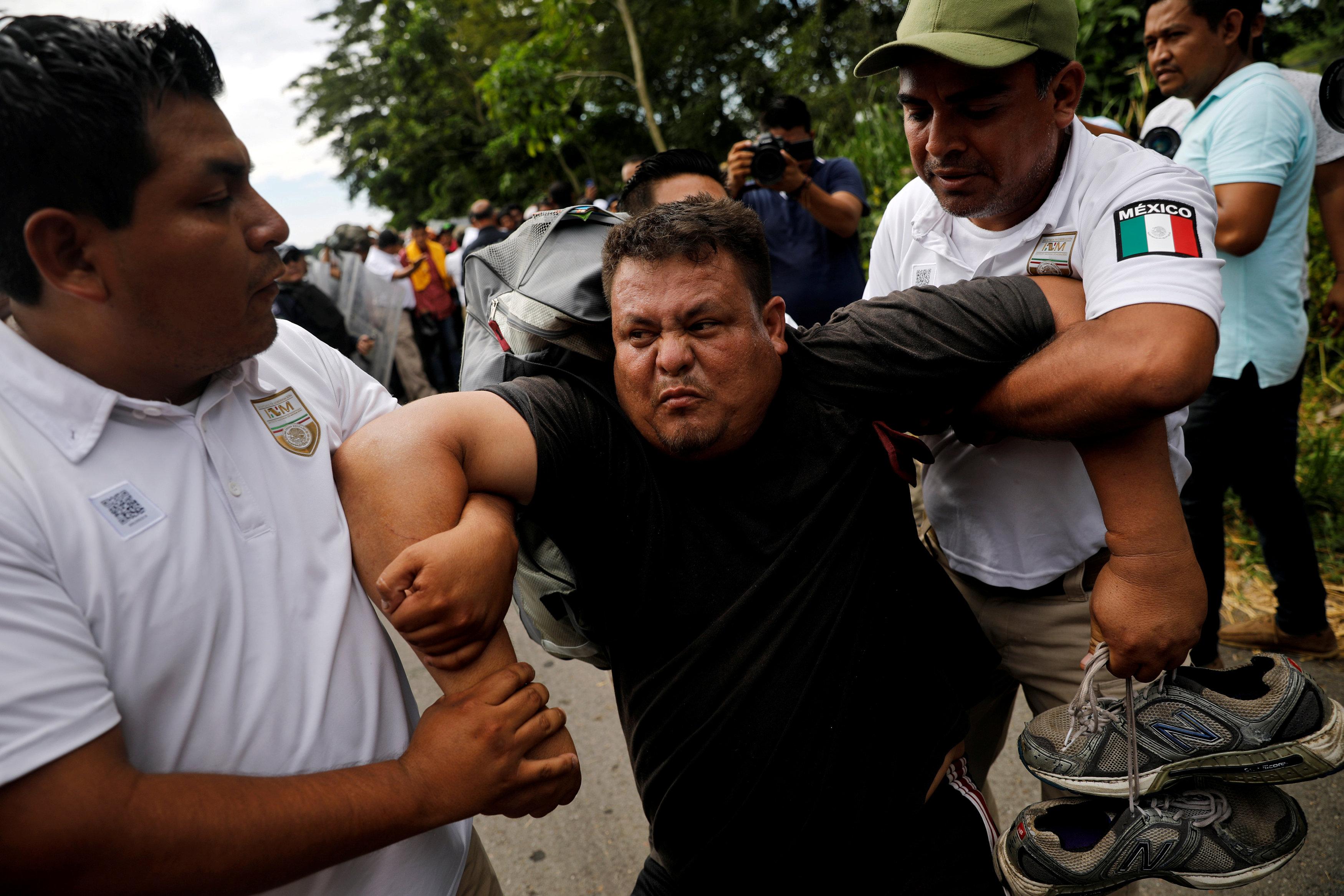 الشرطة المكسيكية تعتقل أحد طالبى اللجوء