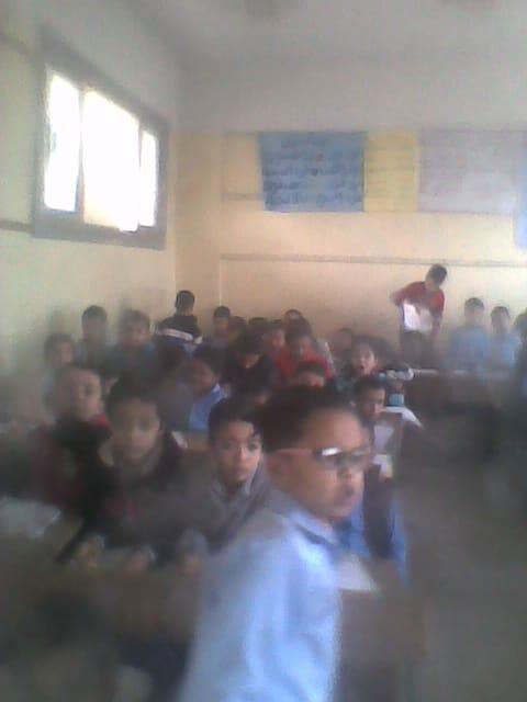 التلاميذ داخل الفصل