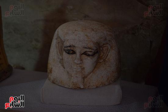 وزير الآثار يعلن اكتشاف مقبرة ثاو آر خت إف بالأقصر (22)