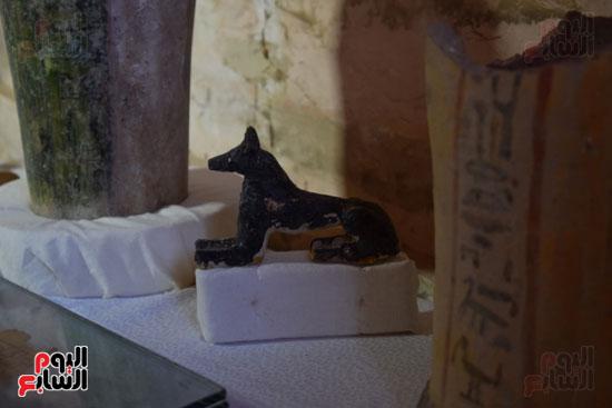 وزير الآثار يعلن اكتشاف مقبرة ثاو آر خت إف بالأقصر (23)
