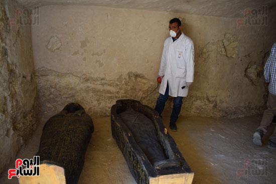 وزير الآثار يعلن اكتشاف مقبرة ثاو آر خت إف بالأقصر (13)