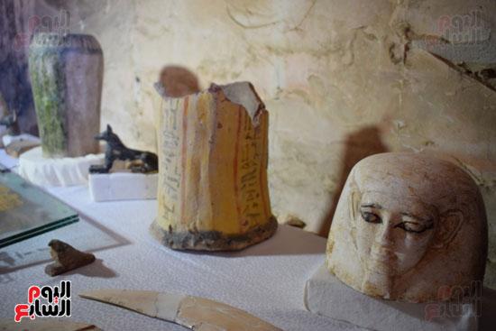 وزير الآثار يعلن اكتشاف مقبرة ثاو آر خت إف بالأقصر (24)