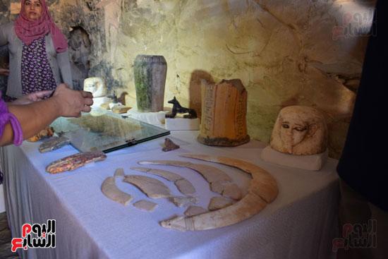 وزير الآثار يعلن اكتشاف مقبرة ثاو آر خت إف بالأقصر (21)