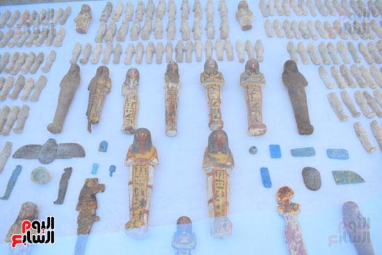 وزير الآثار يعلن اكتشاف مقبرة ثاو آر خت إف بالأقصر (30)