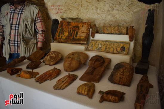 وزير الآثار يعلن اكتشاف مقبرة ثاو آر خت إف بالأقصر (10)