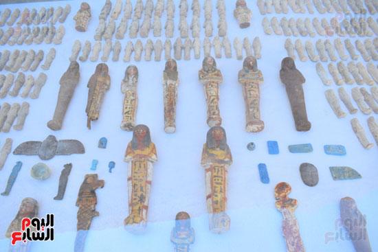 وزير الآثار يعلن اكتشاف مقبرة ثاو آر خت إف بالأقصر (31)