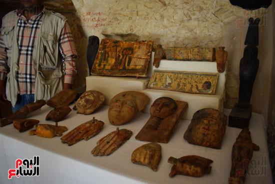 وزير الآثار يعلن اكتشاف مقبرة ثاو آر خت إف بالأقصر (9)