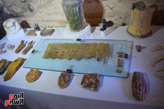 وزير الآثار يعلن اكتشاف مقبرة ثاو آر خت إف بالأقصر (25)