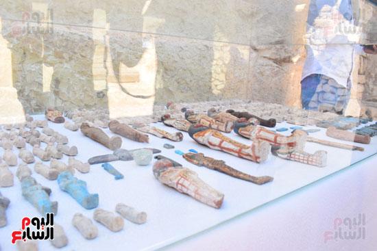 وزير الآثار يعلن اكتشاف مقبرة ثاو آر خت إف بالأقصر (28)